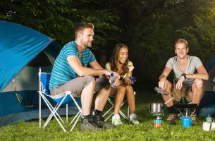 Campsites with friends in Hauts Tolosans