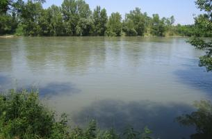 The river Garonne
